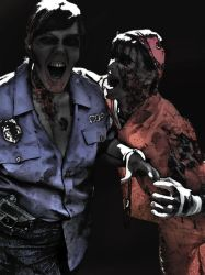 Zombie attack by NightWolf7272