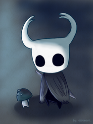 Hollow Knight by ellenent