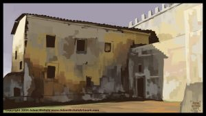 Env Speedpaint: Italian Castle by Autaux
