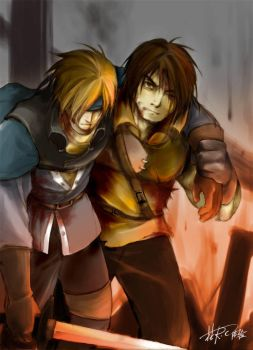 Genso Suikoden Fan drawing4 by Rcaptain