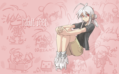 rabbit feet by JohnSu