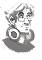 Markiplier Sketch by W00tification