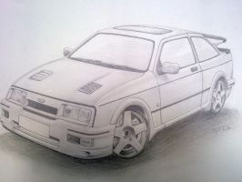 Ford Sierra Rs 500 by PIKEO