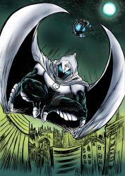 Moon Knight colors by nic011