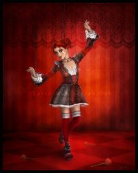 The Marionette by cosmosue