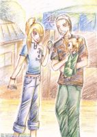 Family_4lostrunaway -colored- by LittleLadyPunk