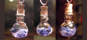 Magic Vial - Sagittarius Zodiac Pendant by Izile