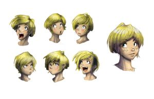 Coloring practice Expressions by GreenYeti