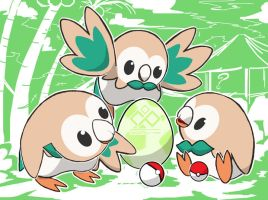 ROWLETS by InfinitePieces