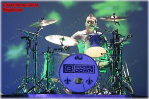 Brad Arnold of 3 Doors Down 2 by ratdog420