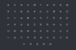 .: Line Icons Vector :. by DigitalConnection