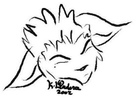 Tablet doodle - Ace by staccato