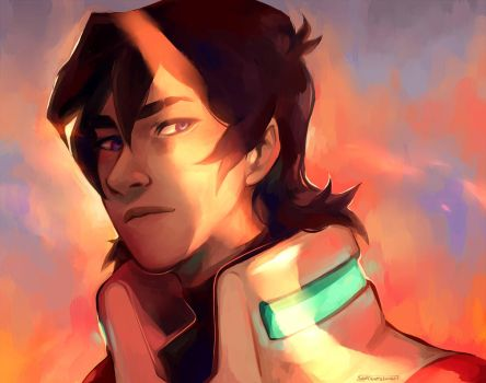 Red Paladin by SixofClovers