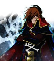 CAPTAIN HARLOCK - Arcadia, Hashin! - Final by Iso-pI