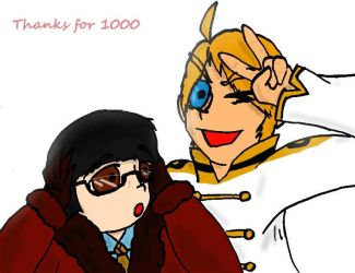 1000 by SaintsSister47