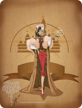 Disney steampunk:Cruella by MecaniqueFairy