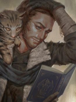 Critical Role - Homeless Troy Baker by ae-rie