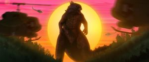 Golden Horizon - Godzilla by Awesomeness360