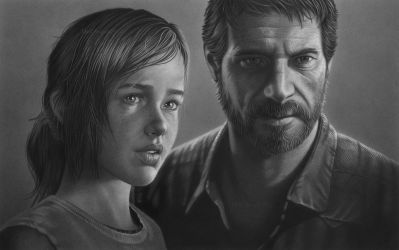 Ellie and Joel (The Last of Us) by markstewart