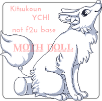 Pixel YCH - Sitting Kitsukoun (OPEN) by Moth-Doll