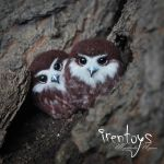 [Brooch] Owlet by Irentoys