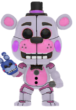 Funtime Freddy Funko Pop! by TNU2002