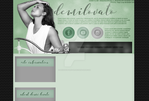 free design ft. demi lovato by designsbyroth