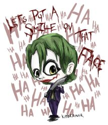 Joker by kidbrainer