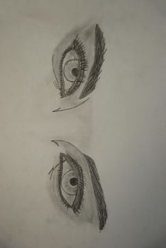 Eyes college work by sarcane