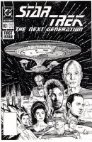 STAR TREK: The Next Generation #1 Return To Raimon by Jerome-K-Moore