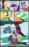 Warming up the apples by RainbowDashie