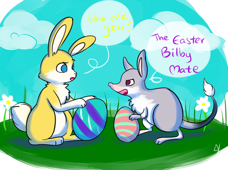 The Easter Bilby Mate by Layneon