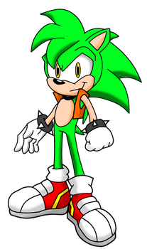 Mobius Universe: Manic the Hedgehog by FrostTheHobidon