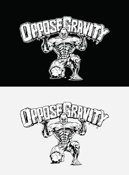 Oppose Gravity Fitness Logo by gusmedi