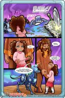 Stefanie and the Metalloids issue 1 page 2 by AlexDealey
