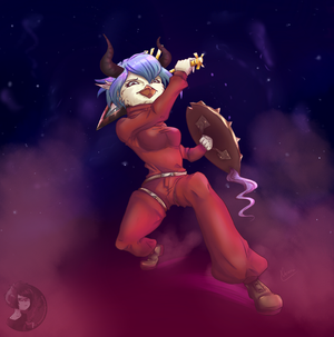 Starbound - Character Contest by Vampirelady-Vanity