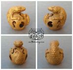 The Leopard Gecko Totem - Special Edition by Bakenekoya