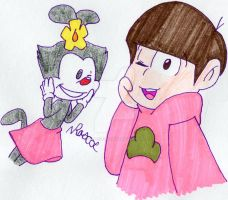 Todomatsu and Dot by Z0MGedELR1C