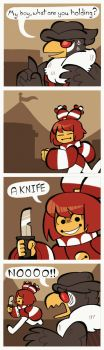 CD :: Rin Attempts the CD Genocide Route by BillSpooks