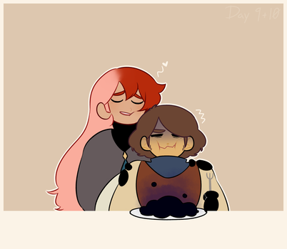 Day 9+10| Sweet Talking and Eating by gatooroo