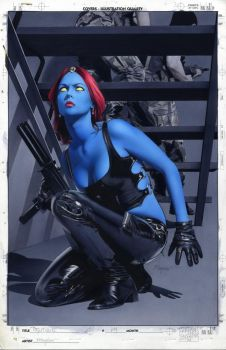 Mystique 14 Cover Painting by mikemayhew