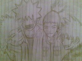 Naruto Friends Till The End by b093