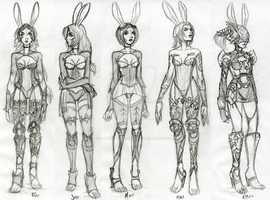 Viera Sketches by PlayBetweentheLines