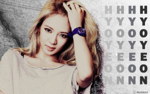 Hyoyeon Real Baby G Wallpaper by Rizzie23
