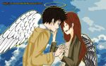 Castiel and Anna by PrincessSushiCat