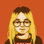 pixel portrait by saladbox