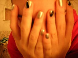 Close up of the nails by JustEraseMe