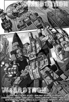 Warbotron - Warbot's Rise - chapter 5, page 1 - It by M3Gr1ml0ck