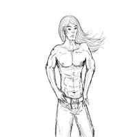 Anatomy Practice - Guy by MistryssC