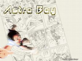 Astro Boy Gets Out by mitaukano